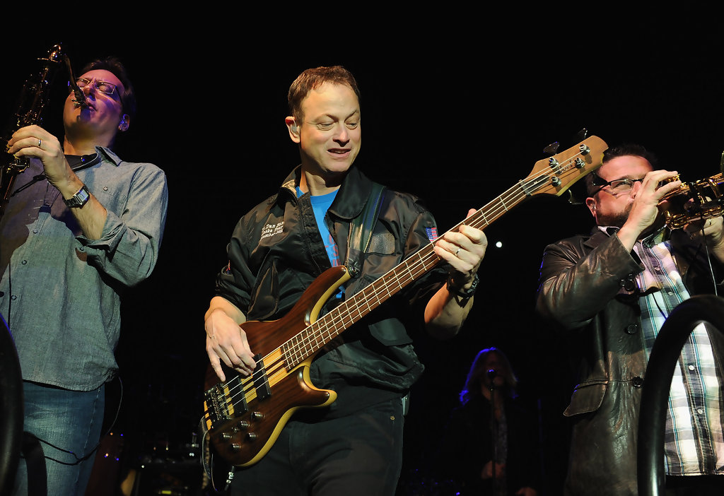 Gary Sinise in Gary Sinise & The Lt. Dan Band Perform At ...