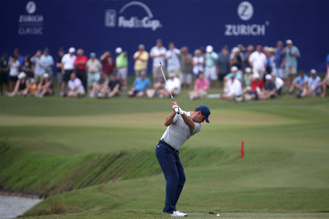 Gary Woodland Zurich Classic Of New Orleans - Round Two