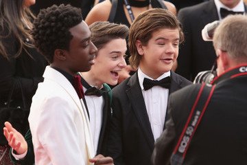 Gaten Matarazzo 24th Annual Screen Actors Guild Awards - Fan Bleachers