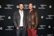 """Filmmakers Jeff and Michael Zimbalist  arrive at the Gatorade premiere of the docu-series, """"Cantera 5v5"""" during the Tribeca TV Festival on Saturday, September 14, 2019 in New York City."""