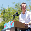 Gavin Newsom Families Belong Together - Freedom For Immigrants March Los Angeles