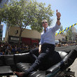 Gavin Newsom Golden State Warriors Victory Parade