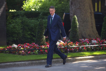 Gavin Williamson Cabinet Ministers Attend Downing Street Meeting