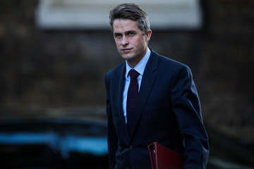 Gavin Williamson Government Ministers Attend Cabinet After Conference Season Recess