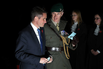 Gavin Williamson The Queen Attends A Service At Westminster Abbey Marking The Centenary Of WW1 Armistice