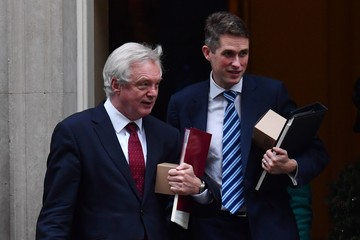 Gavin Williamson Weekly Cabinet Meeting at 10 Downing Street