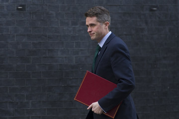 Gavin Williamson Government Ministers Attend The Weekly Cabinet Meeting