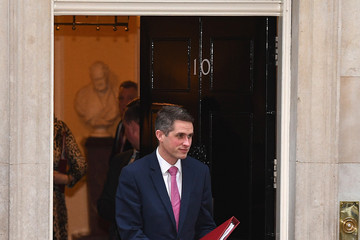 Gavin Williamson Government Ministers Attend First Cabinet Meeting Of 2018