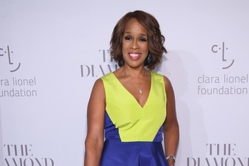 Gayle King Rihanna's 3rd Annual Diamond Ball Benefitting the Clara Lionel Foundation at Cipriani Wall Street - Arrivals