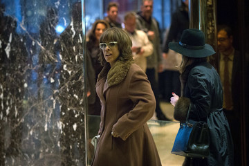 Gayle King President-Elect Donald Trump Holds Meetings At His Trump Tower Residence In New York