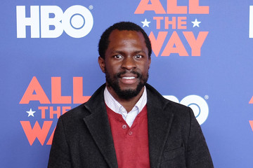 Gbenga Akinnagbe NYC Special Screening of HBO Film 'All the Way'