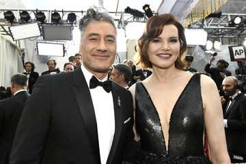 Geena Davis 92nd Annual Academy Awards - Red Carpet