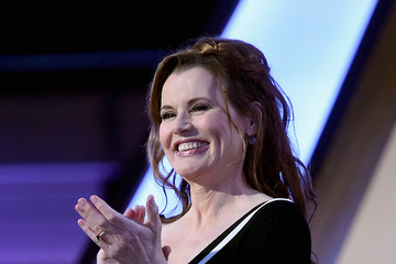Geena Davis Backstage at the 18th Annual Hollywood Film Awards