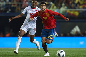 Gelson Fernandes Spain v Switzerland - International Friendly