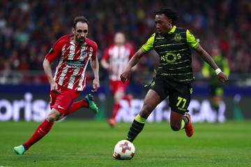 Gelson Martins Atletico Madrid v Sporting CP - UEFA Europa League Quarter Final Leg One