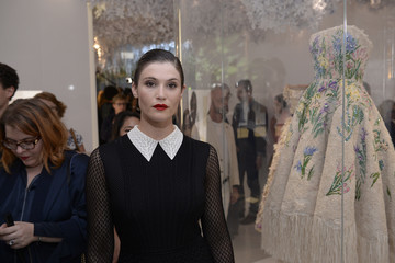 Gemma Arterton Christian Dior Celebrates 70 Years of Creation - Exhibition At Musee des Arts Decoratifs
