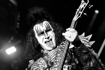 Gene Simmons KISS Performs At Staples Center