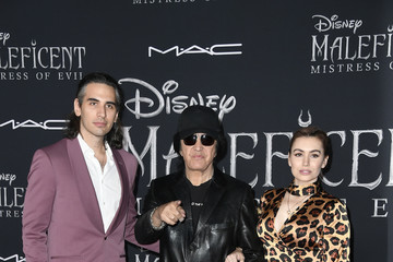 Gene Simmons World Premiere Of Disney's 'Maleficent: Mistress Of Evil'  - Arrivals