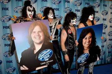 Gene Simmons Press Room at the 'American Idol' Season Finale