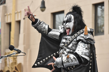 Gene Simmons 88th Annual Macy's Thanksgiving Day Parade