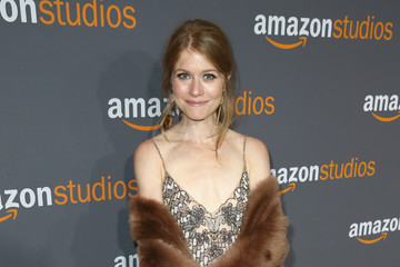 Genevieve Angelson Amazon Studios Golden Globes Celebration