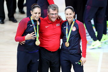 Geno Auriemma Basketball - Olympics: Day 15