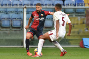 Adel Taarabt (Genoa) in action during the Serie A match between Genoa CFC and AS Roma at Stadio Luigi Ferraris on November 26, 2017 in Genoa, Italy.