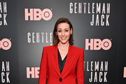 "Suranne Jones attends the ""Gentleman Jack"" New York premiere at Metrograph on April 17, 2019 in New York City."