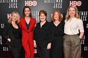 "(L-R) Kathleen McCaffrey, Suranne Jones, Sally Wainwright, Faith Penhale, and Laura Lankester attend the ""Gentleman Jack"" New York premiere at Metrograph on April 17, 2019 in New York City."