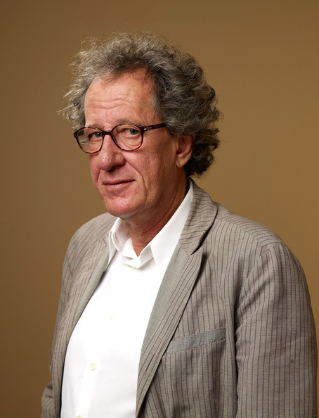 "Geoffrey Rush Actor Geoffrey Rush from ""The King's Speech"" poses for a portrait during the 2010 Toronto International Film Festival in Guess Portrait Studio at Hyatt Regency Hotel on September 11, 2010 in Toronto, Canada."