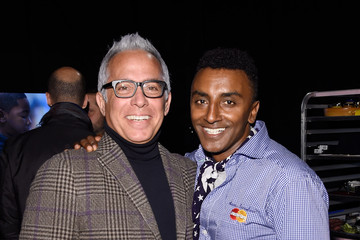 Geoffrey Zakarian Marcus Samuelsson Grand Tasting Presented By ShopRite Featuring KitchenAid® Culinary Demonstrations Presented By MasterCard® - New York City Wine & Food Festival