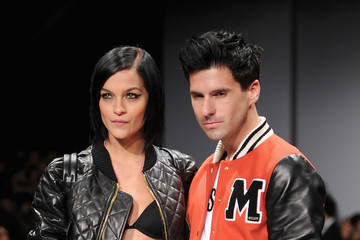 Geordon Nicol Moschino - Front Row - Milan Fashion Week Womenswear Autumn/Winter 2014