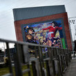 George Best Mural Makers Reflect Belfast's Positive Future