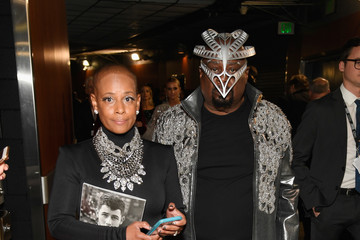 George Clinton 61st Annual Grammy Awards - Backstage