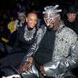 George Clinton 61st Annual Grammy Awards - Inside