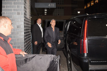 George Clooney Nespresso and Audi Hosts a 'Suburbicon' Cocktail Party at the Toronto Film Festival 2017