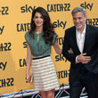 George Clooney 'Catch-22' Rome Premiere