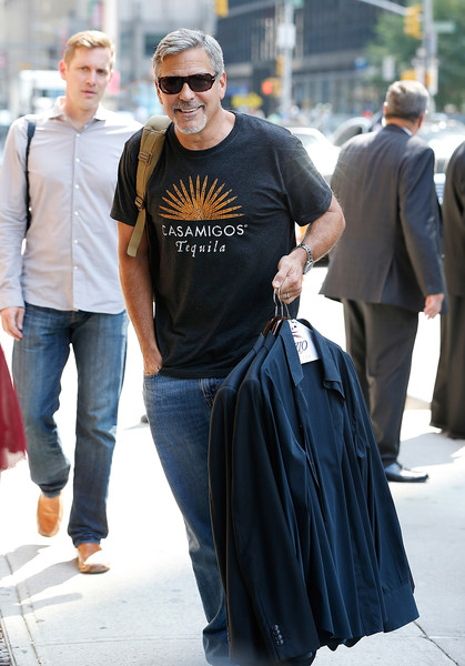 George Clooney attends the First Taping of 'The Late Show With Stephen Colbert'  8th September 2015 George+Clooney+Celebrities+Attend+First+Taping+rxfhPtx6pyXl