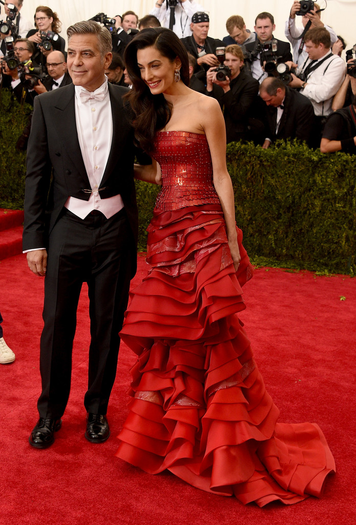 George Clooney at the Met Gala 4th May 2015 George+Clooney+China+Through+Looking+Glass+PzmgPyxwyNJx