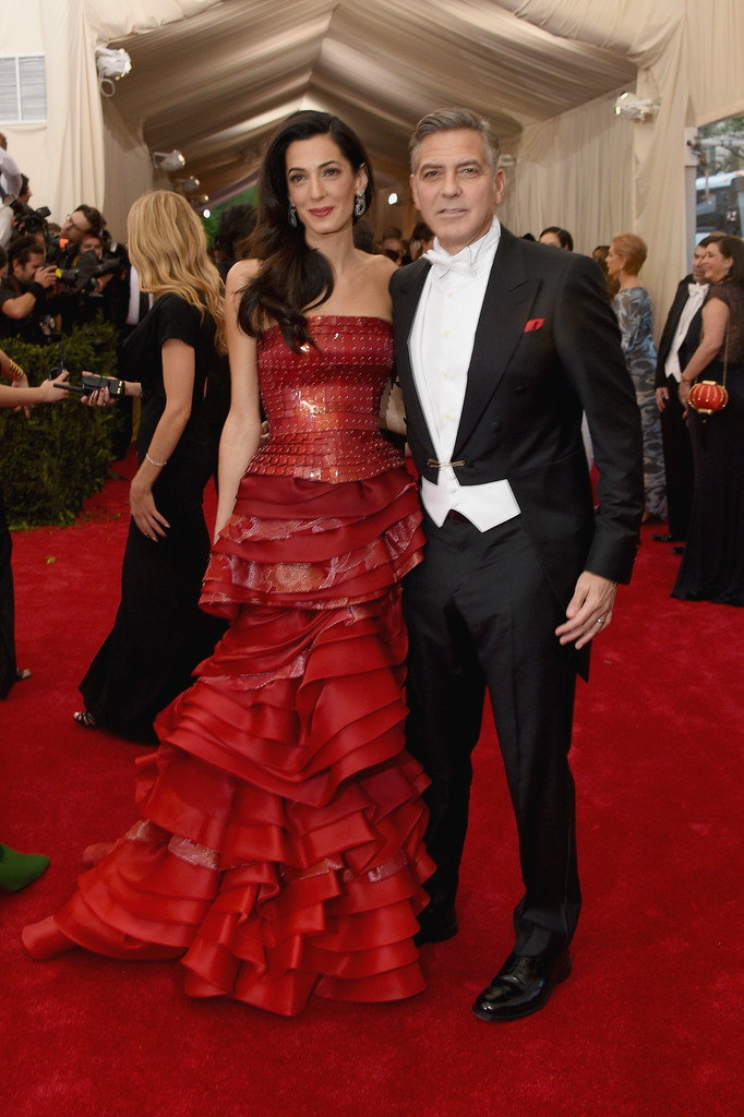 George Clooney at the Met Gala 4th May 2015 George+Clooney+China+Through+Looking+Glass+WoRy7kX-P2ax