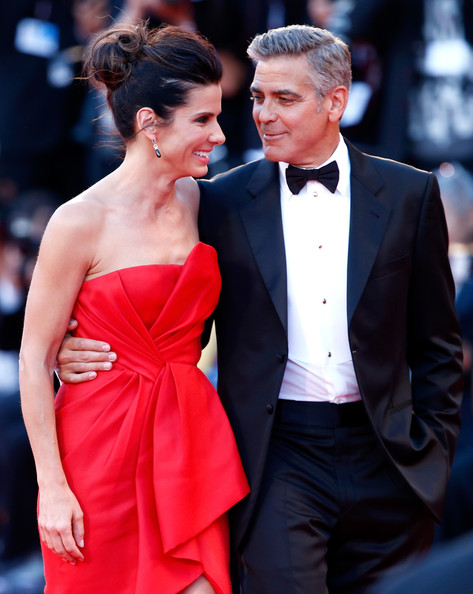 George Clooney and Sandra Bullock at the evening premiere of Gravity at Venice Film Festival George+Clooney+Gravity+Premieres+Venice+j-8VKl7iFvIl