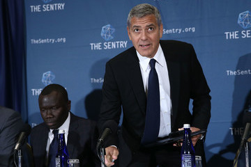 George Clooney George Clooney Discusses Corruption In South Sudan At National Press Club In D.C.