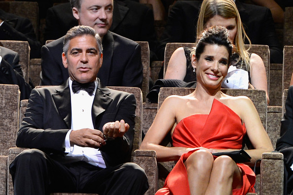 George Clooney and Sandra Bullock at the evening premiere of Gravity at Venice Film Festival George+Clooney+Opening+Ceremony+Inside+70th+GE-OF0L-DVfl