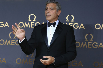 George Clooney Omega Le Jardin Secret Dinner Party