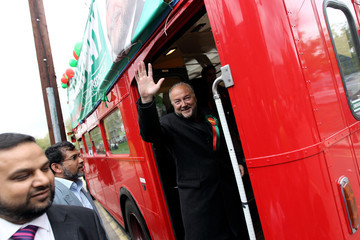George Galloway George Galloway Leads The Respect Party Campaign Around East London