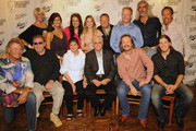 Back Row: Singers and Songwriters, David Lee Murphy, The McClymonts, Mollie McClymont, Sam McClymont, Brooke McClymont, Elaine Roy of The Roys, #####, Darrin Vincent of Dailey & Vincent, Guy Penrod and Billy Yates. Front Row: Eddie Raven, Billy Joe Shaver, Nancy Jones, George Jones, Trivis Tritt and Jason Michael Carroll attends George Jones' 80th birthday party at Rippy's Bar & Grill on September 13, 2011 in Nashville, Tennessee.
