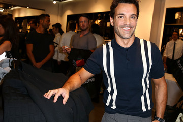 George Kotsiopoulos Alexander Wang x H&M Pre-Shop Party