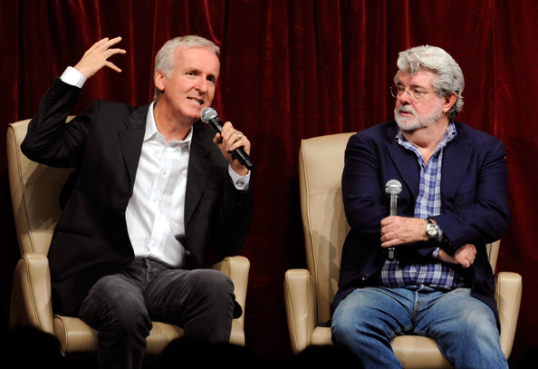George Lucas And James Cameron