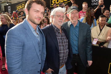 George Lucas Premiere Of Disney Pictures And Lucasfilm's 'Solo: A Star Wars Story' - Red Carpet