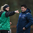 George Murray Munster Rugby Squad Training and Press Conference